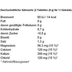 Dextro Energy Zero Calories Elektrolytgetränk Limette 20 Tabs